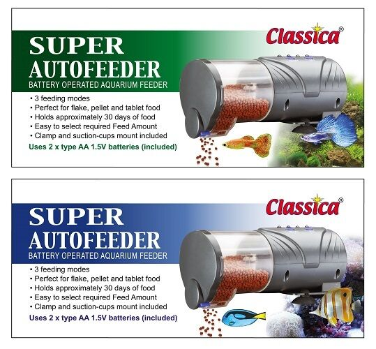 Fd022 Classica Super Autofeeder Aquarium Fish Tank Auto Feeder Holiday Food