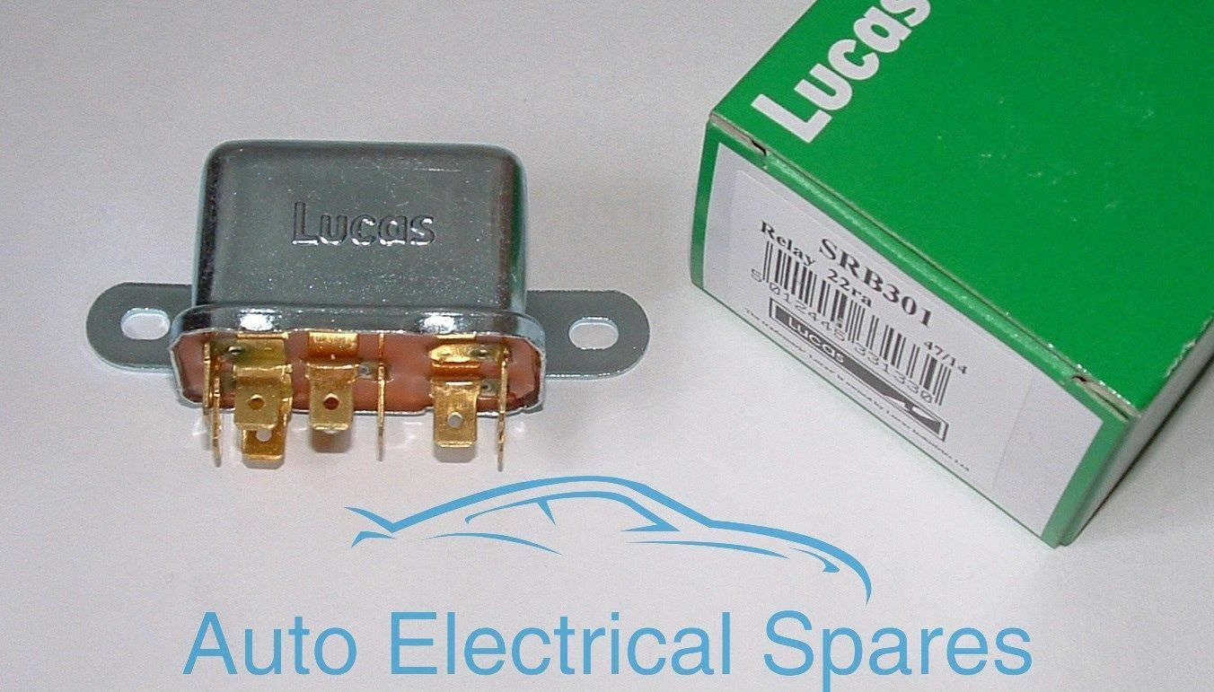 Lucas Srb301 33356 22ra Classic Starter Relay For Triumph Spitfire 5 Pin 1 Of 1only Available