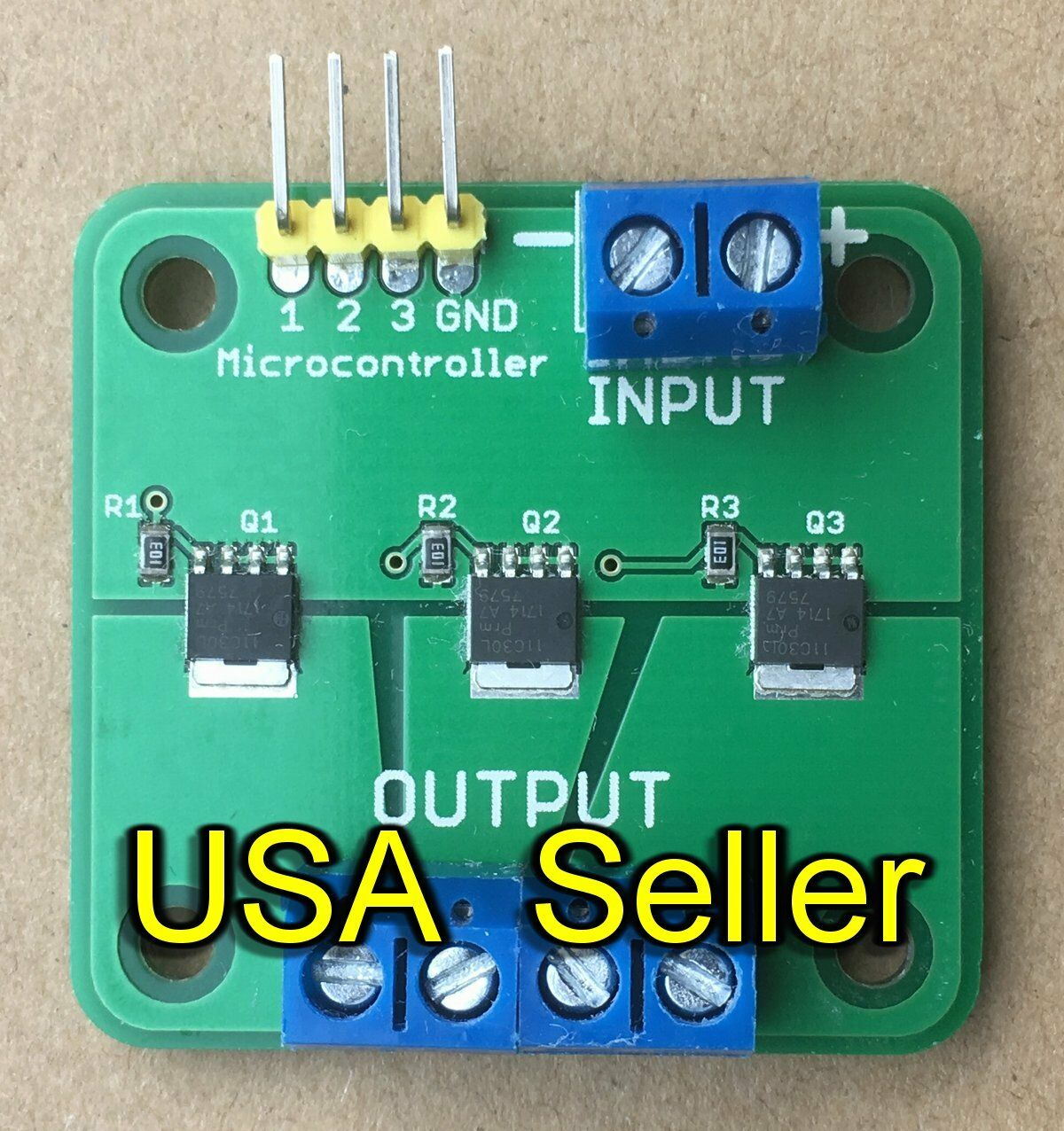 Mosfet Breakout Board Module Switch Relay 15a 60v 3 Outputs For Arduino 1 Of 4
