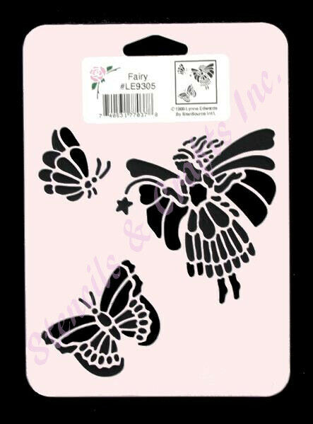 Fairy Stencil Erfly Erflies Craft Stencils Template Art Paint New 1 Of 1free Shipping