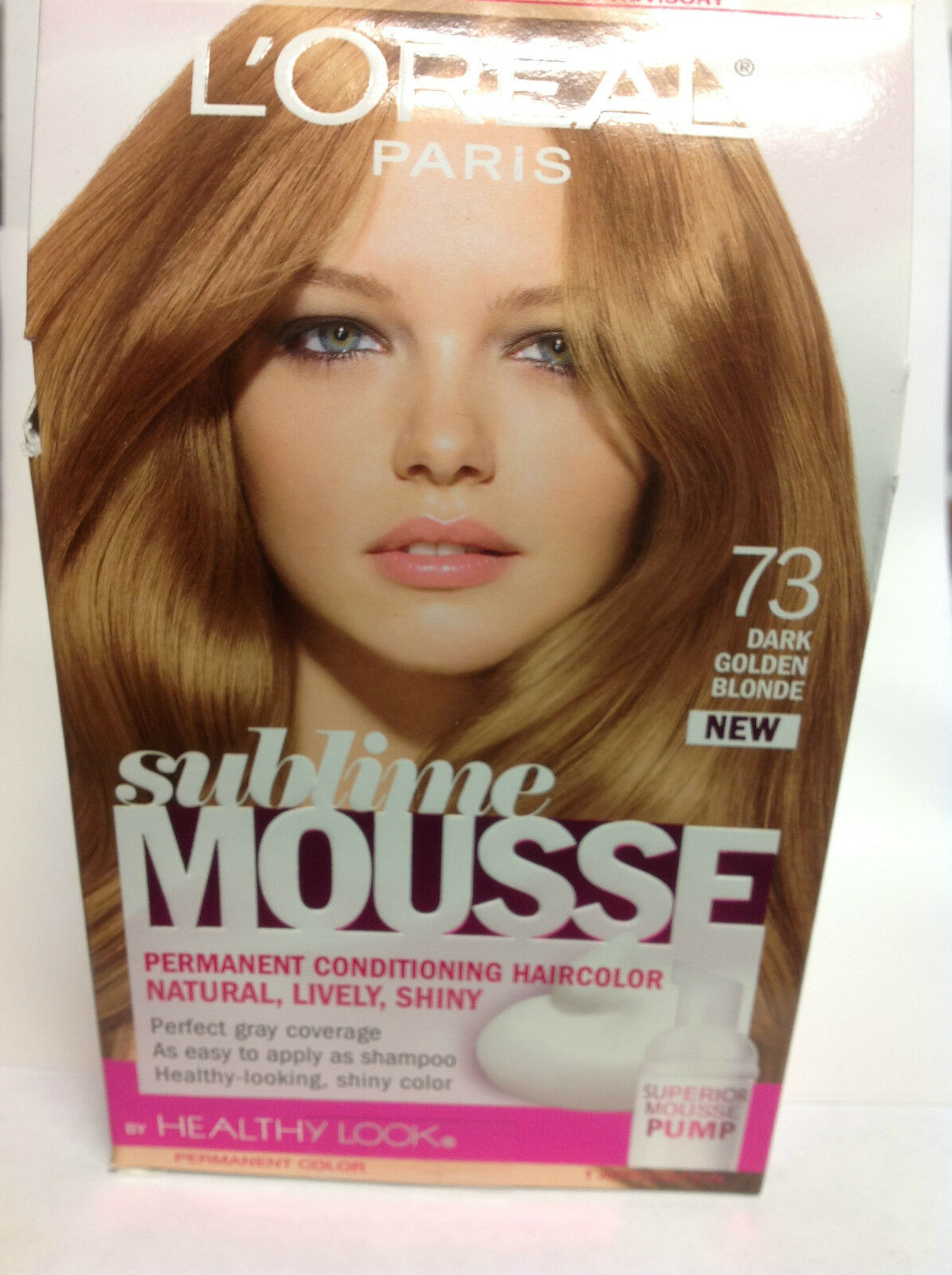 Loreal Sublime Mousse By Healthy Look Hair Color Dark Golden