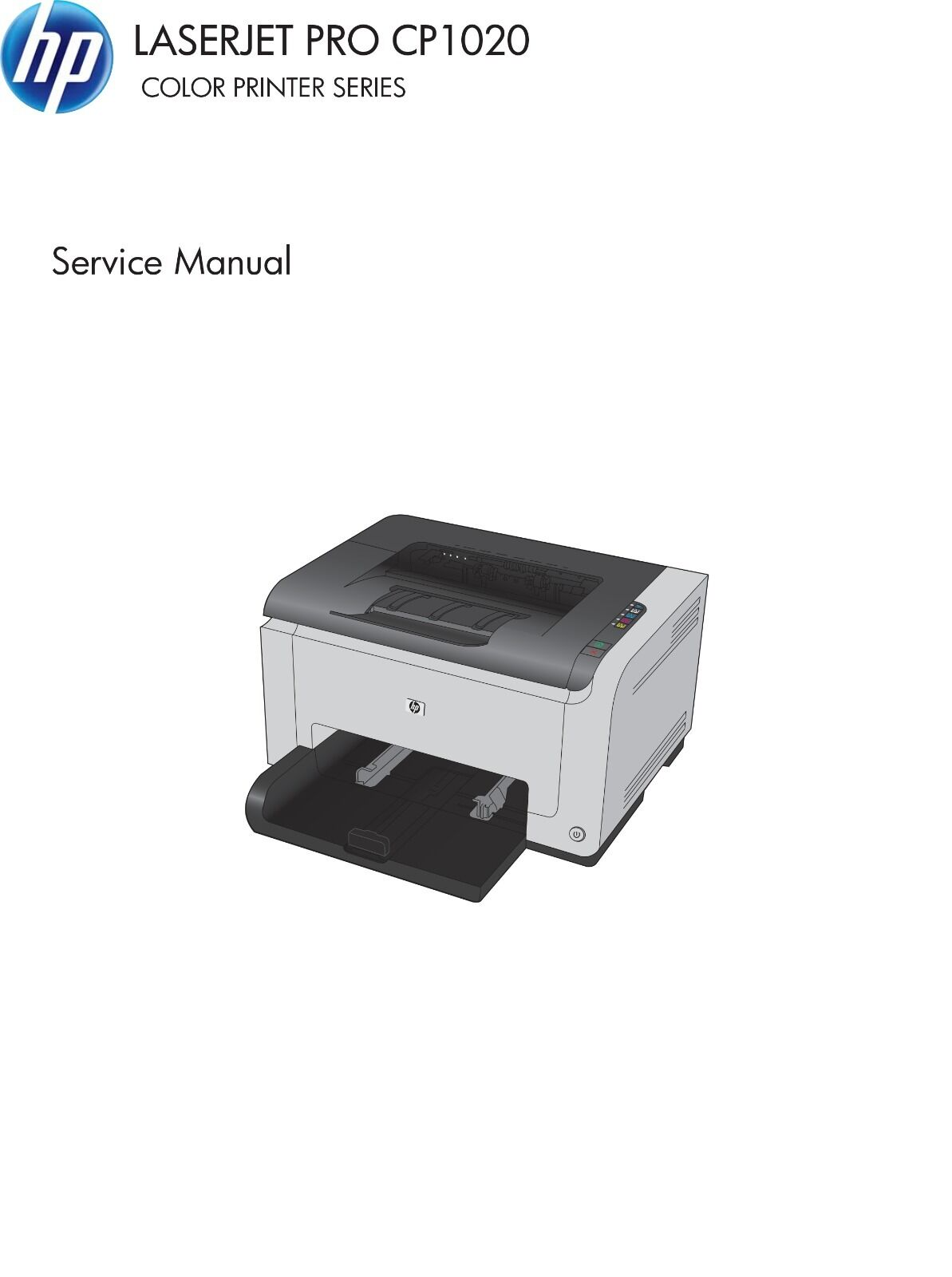 HP Color LaserJet Pro CP1020 Series - Service Manual PDF 1 of 4Only 1  available ...