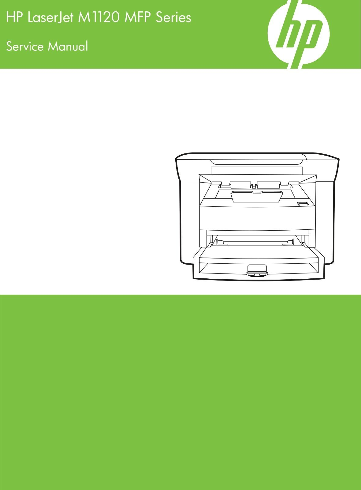 HP LaserJet M1120 MFP - Service Manual PDF 1 of 4Only 1 available ...