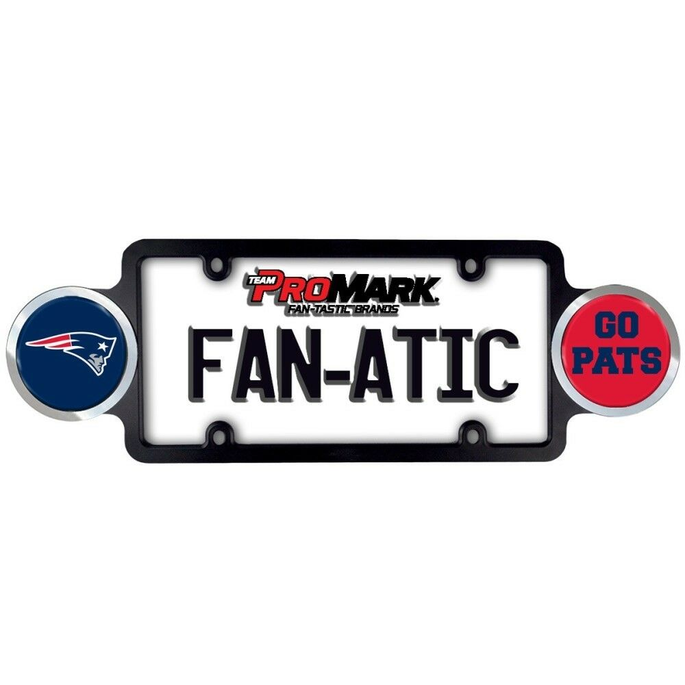 Beautiful Patriots License Plate Frame Illustration - Picture Frame ...