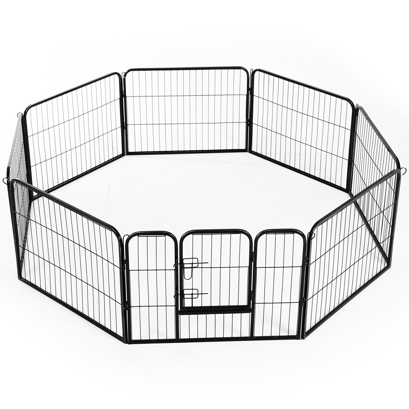 pawhut pet cage guinea dog pig puppy playpen play house