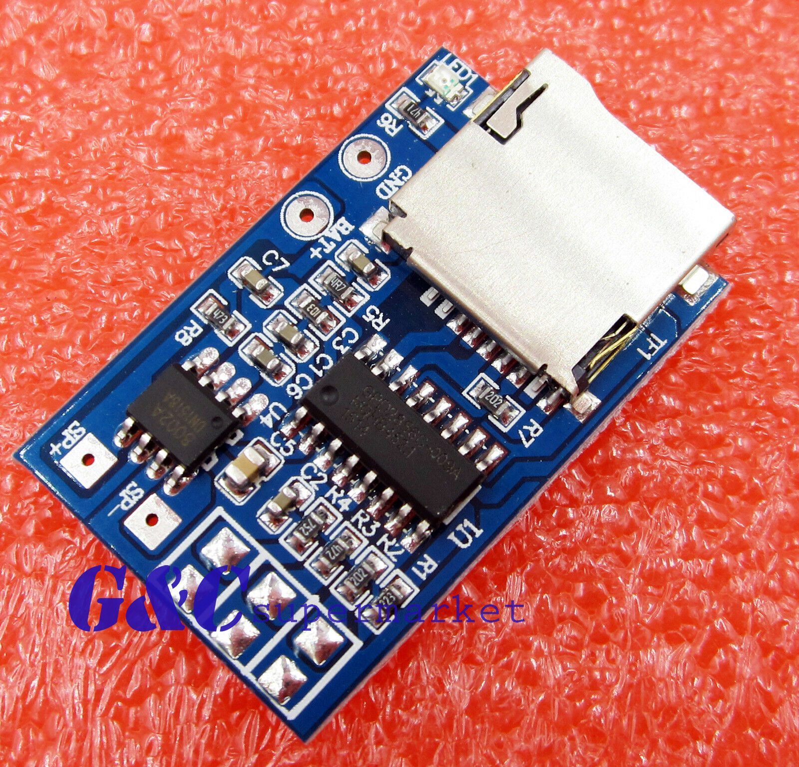 Gpd2856a Tf Card Mp3 Decoder Board 2w Amplifier Module For Arduino Antietching Pcb Circuit Ink Marker Pen Diy 1 Of See More