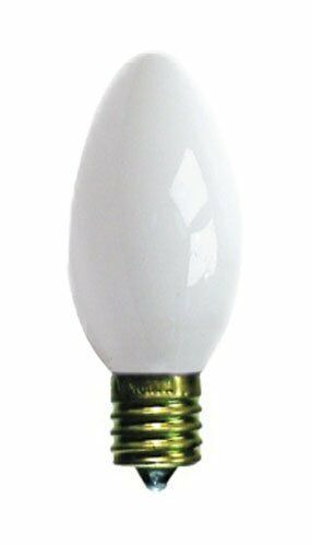 25 c9 white ceramic replacement christmas light bulbs holiday wedding