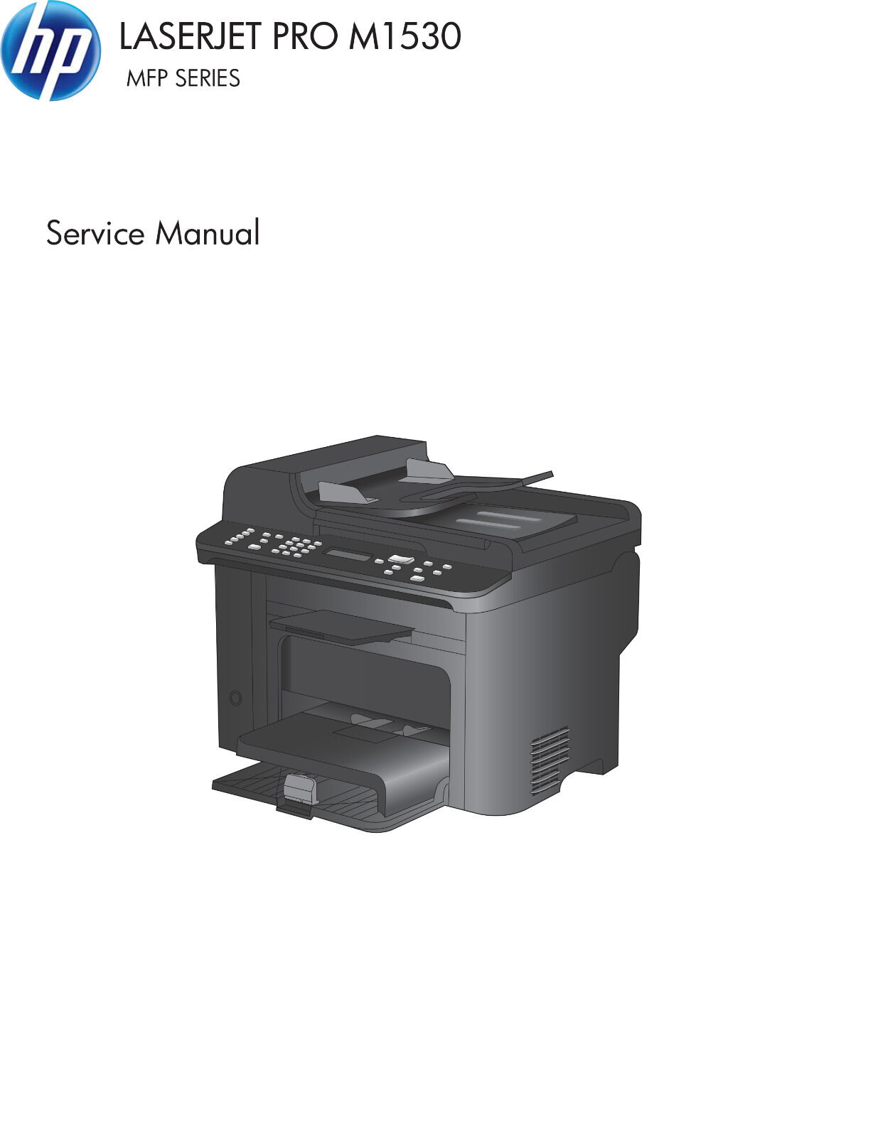 HP LaserJet Pro M1530 MFP Series - Service Manual PDF 1 of 4Only 1  available ...