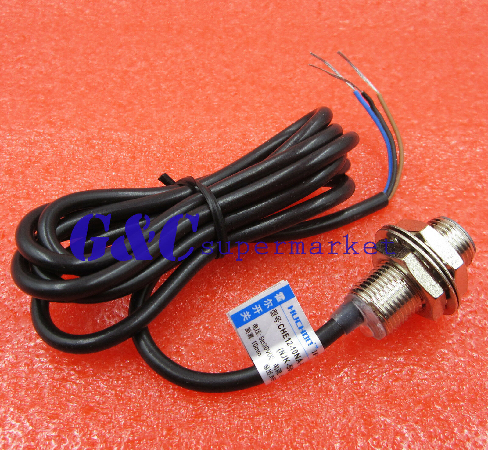 Njk 5002c Hall Effect Sensor Proximity Switch Npn 3 Wires Normally Wiring 1 Of See More