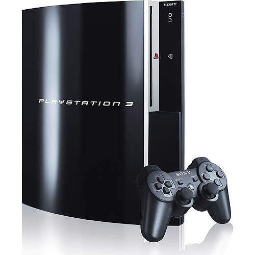 sony playstation 3 80gb piano black console. Black Bedroom Furniture Sets. Home Design Ideas
