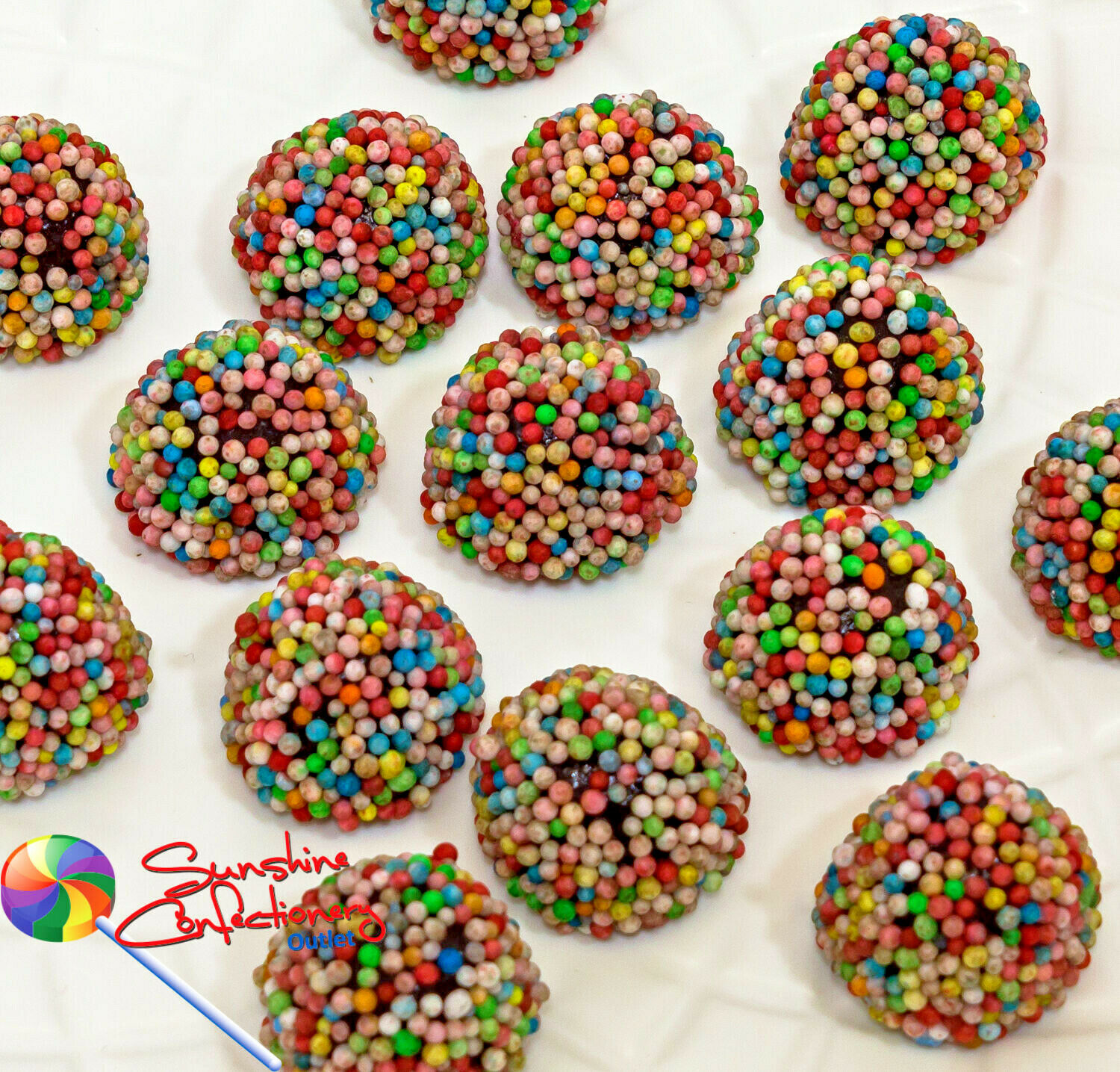 Aniseed Sparkles - 1kg -  Bulk Aniseed Jelly Lollies, Made in Australia