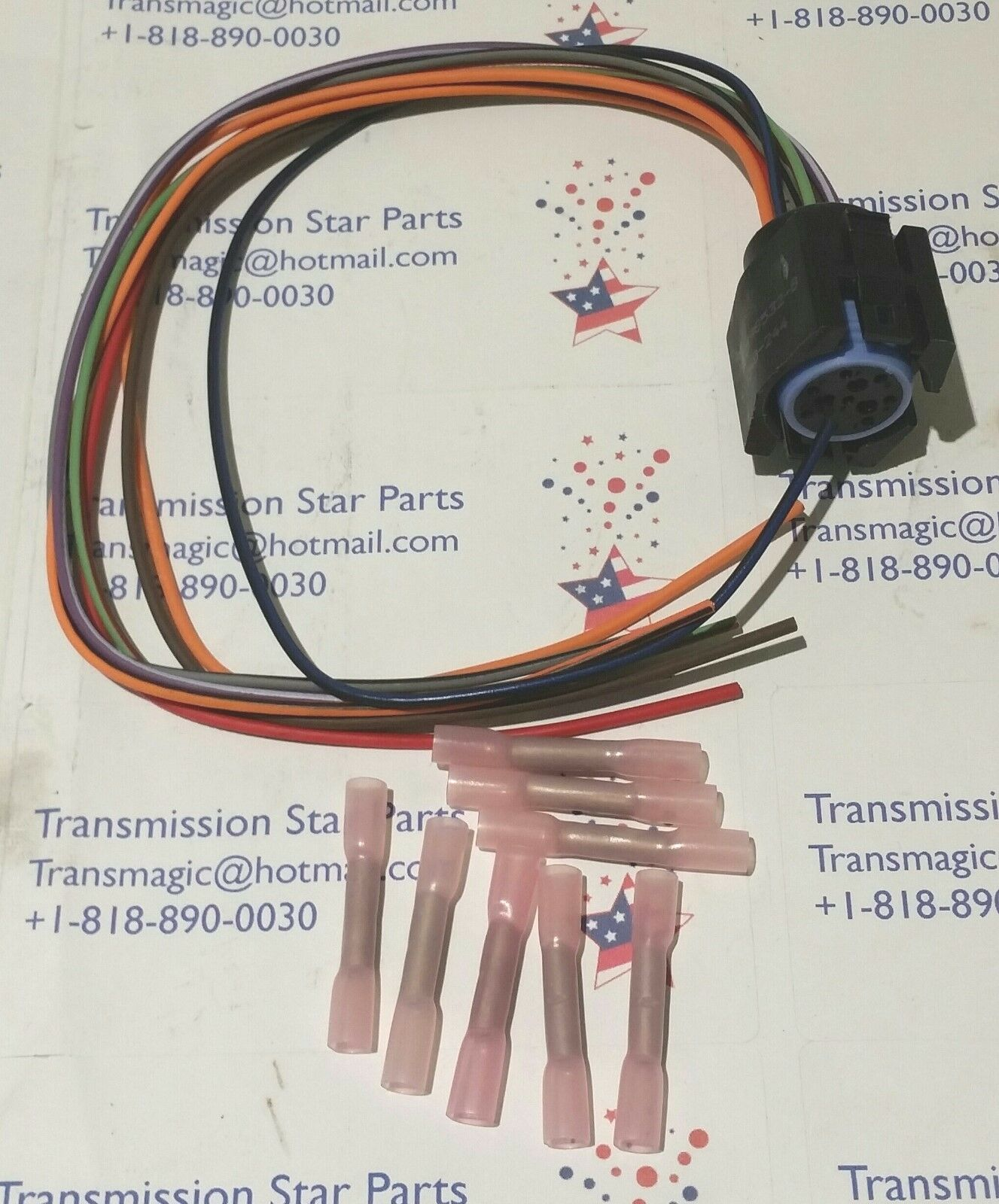 42re 44re 46re 47re 48re A500 A518 Harness Connector Pigtail Repair 47rh Wiring Diagram 1 Of 3free Shipping