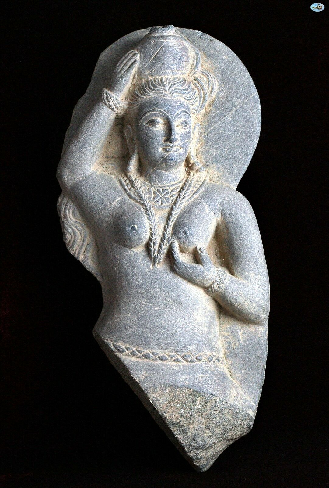 Indian Hindu Goddess of Ancient India Kushan Period Figure 2nd-3rd Century AD