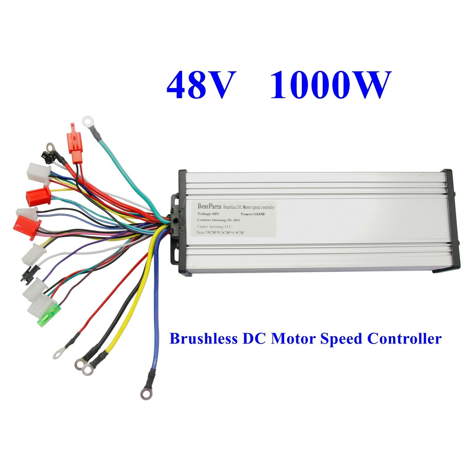 48v 1000w Electric Bicycle E Bike Scooter Brushless Dc