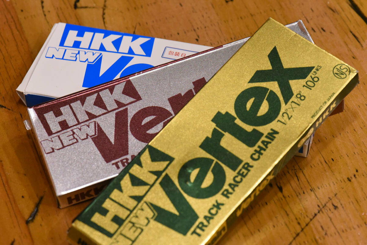 Hkk Vertex Track Racing Chain Njs Choose From Silver Gold Or Izumi Single Speed 1 Of See More