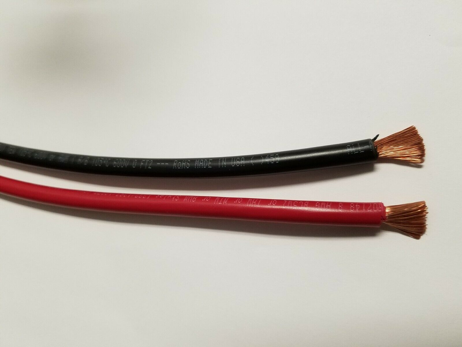 8 Gauge Wire Red Black 25 Ft Each Primary Awg Stranded Copper 20 Feet 4 Power Cable Best Quality Remote 1 Of 1free Shipping