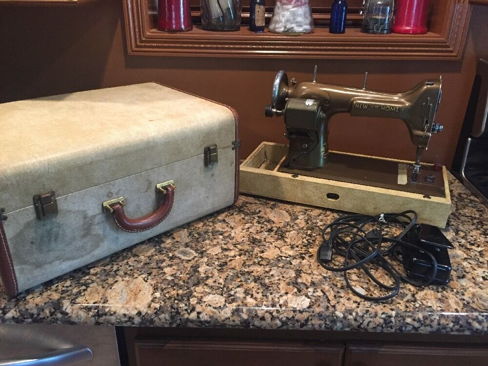 VINTAGE ANTIQUE WESTINGHOUSE New Home Light Running Foot Pedal New New Home Sewing Machine Foot Pedal