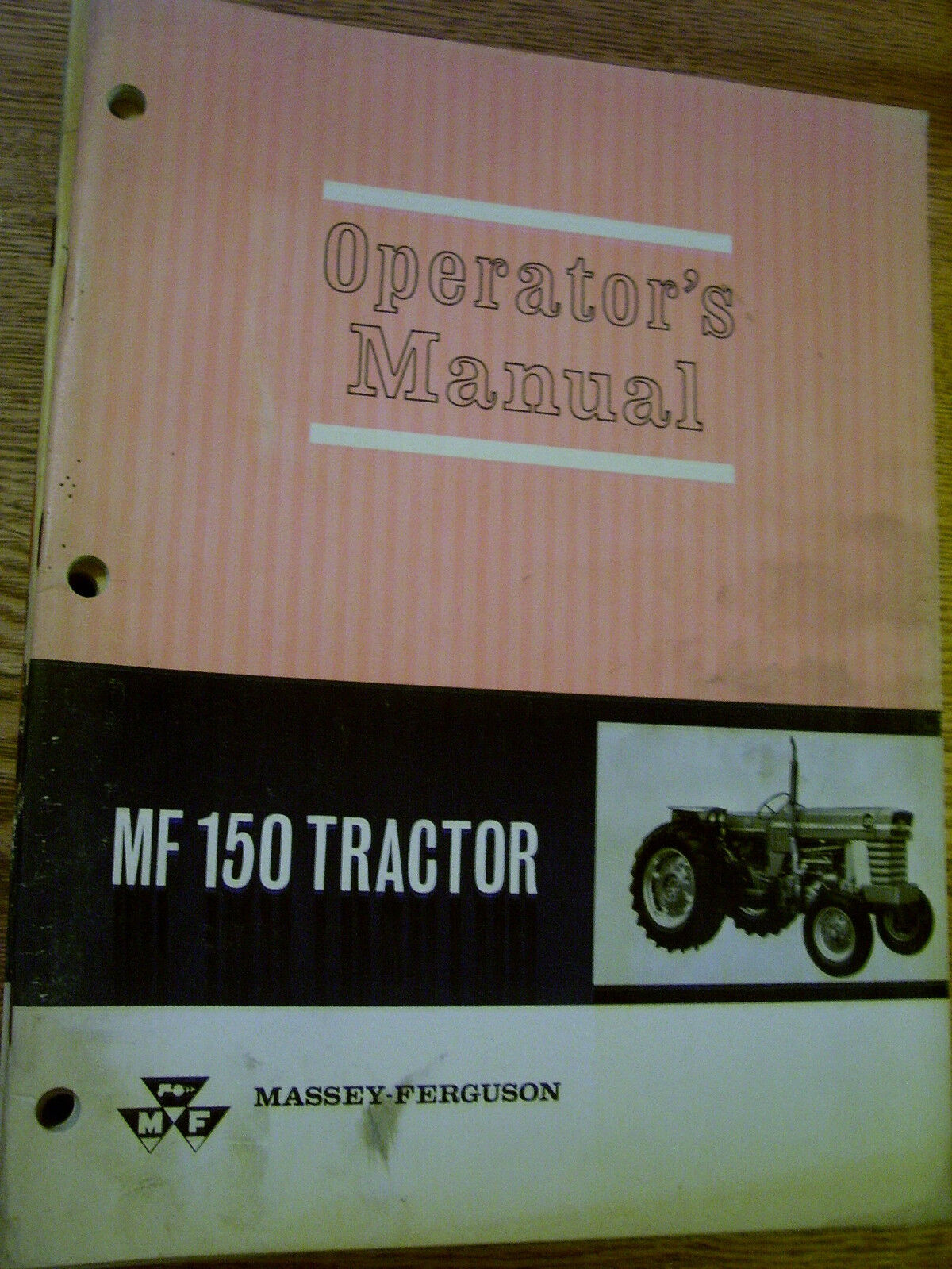 Vintage Massey Ferguson Operators Manual - Mf # 150 Tractor - 1966 1 of  1Only 1 available ...