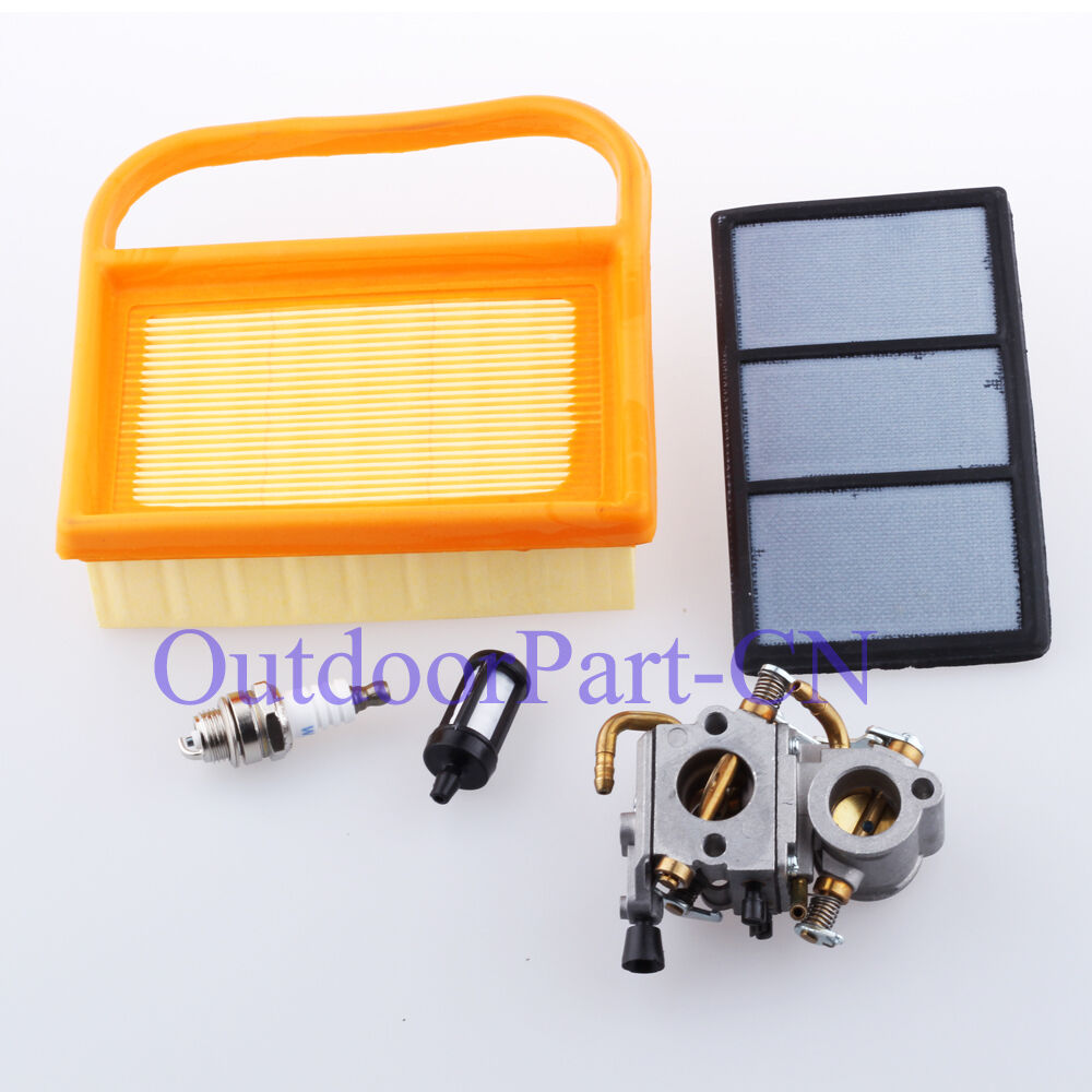Carburetor Air Filter For Stihl Ts410 Ts 420 Cut Off Chainsaw Carb W My Fuel 1 Of 3free Shipping