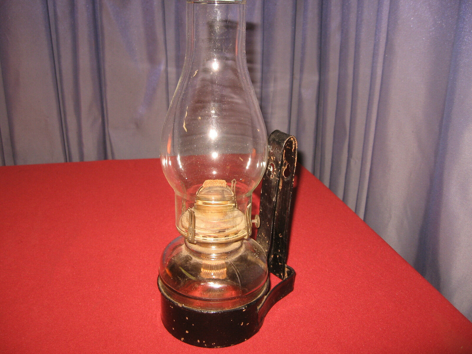 Wall Kerosene Lamps : Antique Wall Mount Lantern Vintage Primitive Kerosene Oil Barn Lamp Chimney USD 30.00 - PicClick