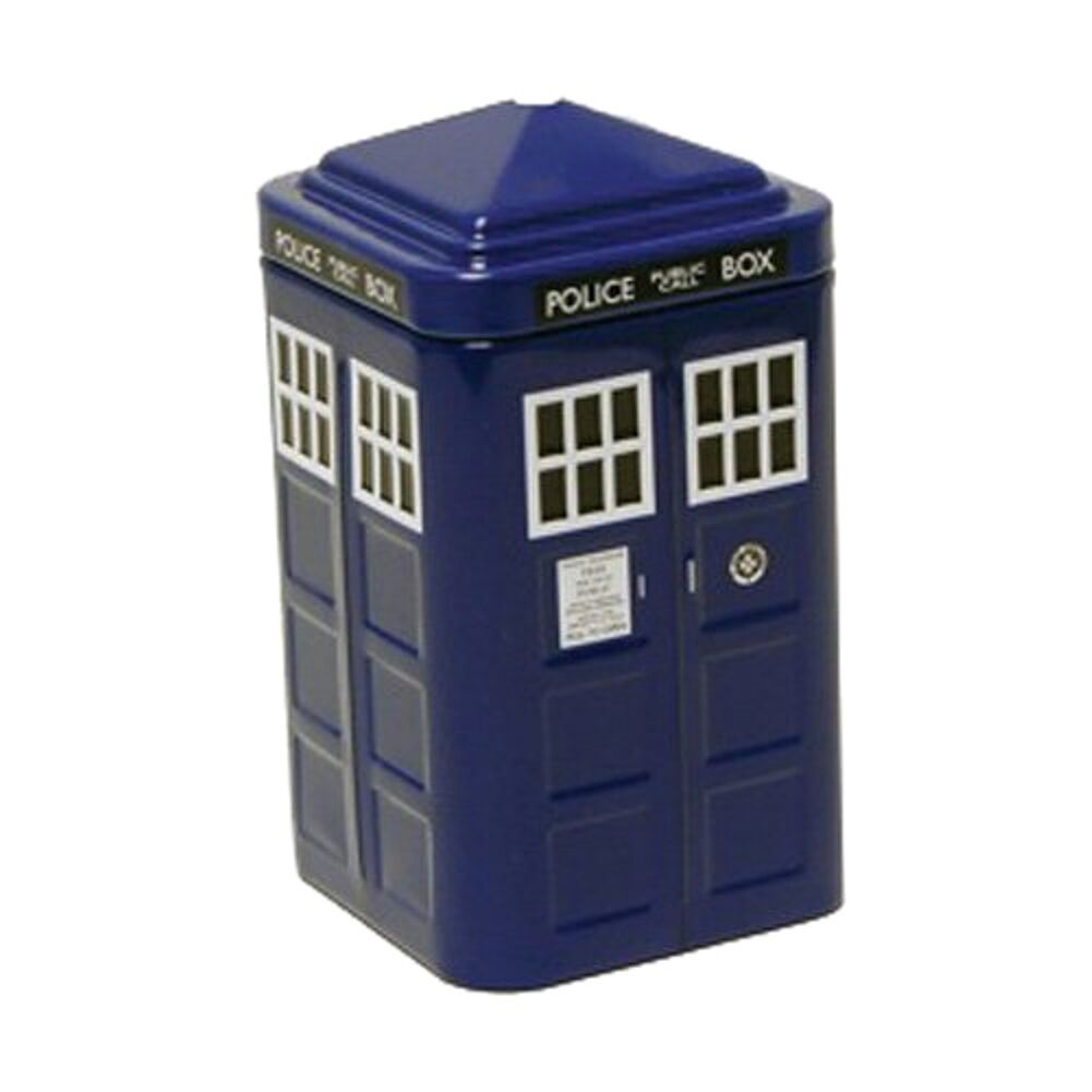 Official Doctor Who TARDIS Tinned Mints - Tin Gift Box BBC Collectable Retro TV