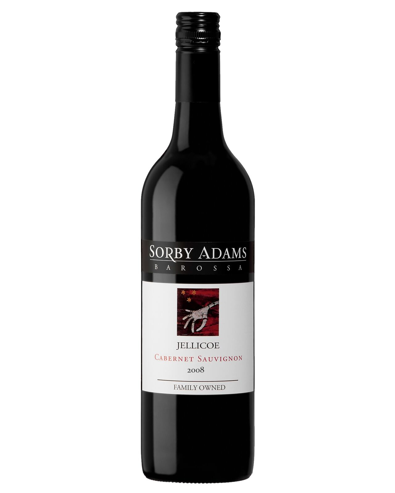Sorby Adams Jellicoe Cabernet 2008 case of 6 Cabernet Sauvignon Dry Red Wine