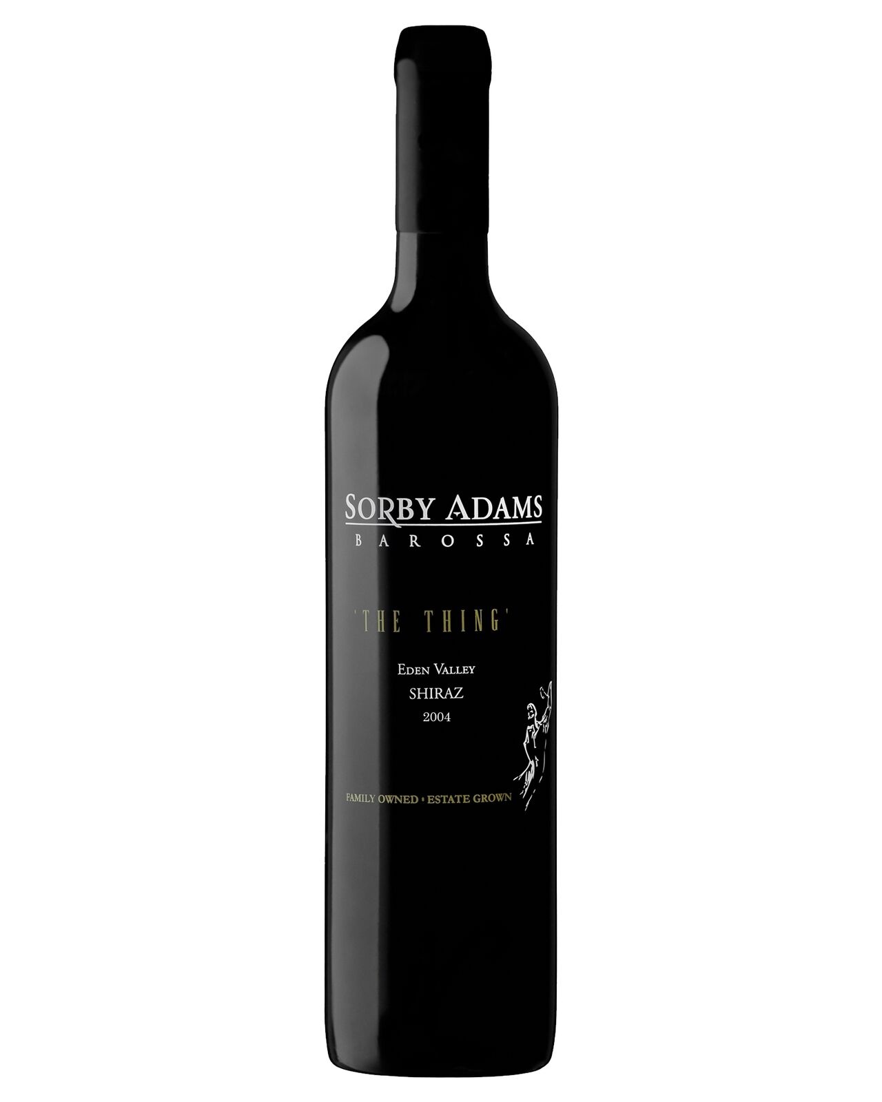 Sorby Adams The Thing Shiraz 2004 case of 6 Dry Red Wine 750mL