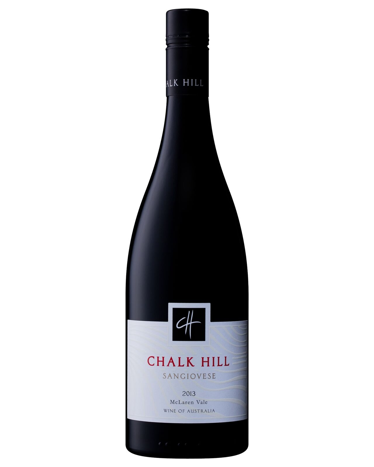 Chalk Hill Sangiovese 2013 case of 6 Dry Red Wine 750mL McLaren Vale