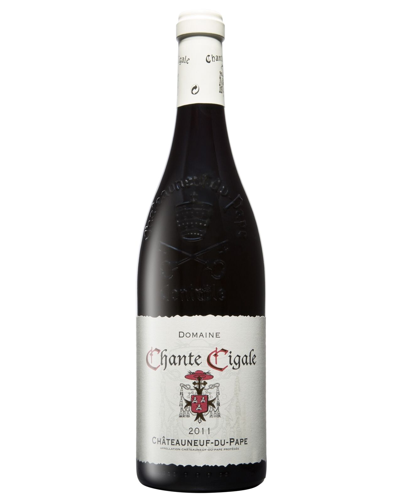 Chante Cigale Chteauneuf du Pape Rouge 2012 case of 6 Grenache Blend Dry Red