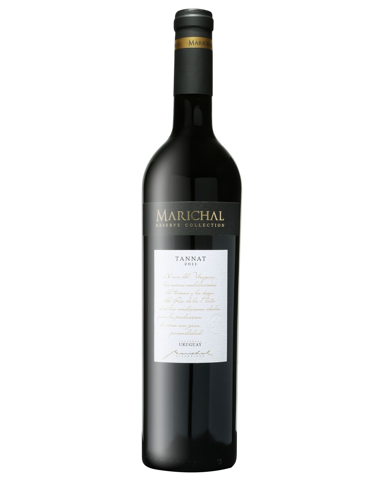 Marichal Reserve Collection Tannat 2011 case of 6 Dry Red Wine 750mL Canelones