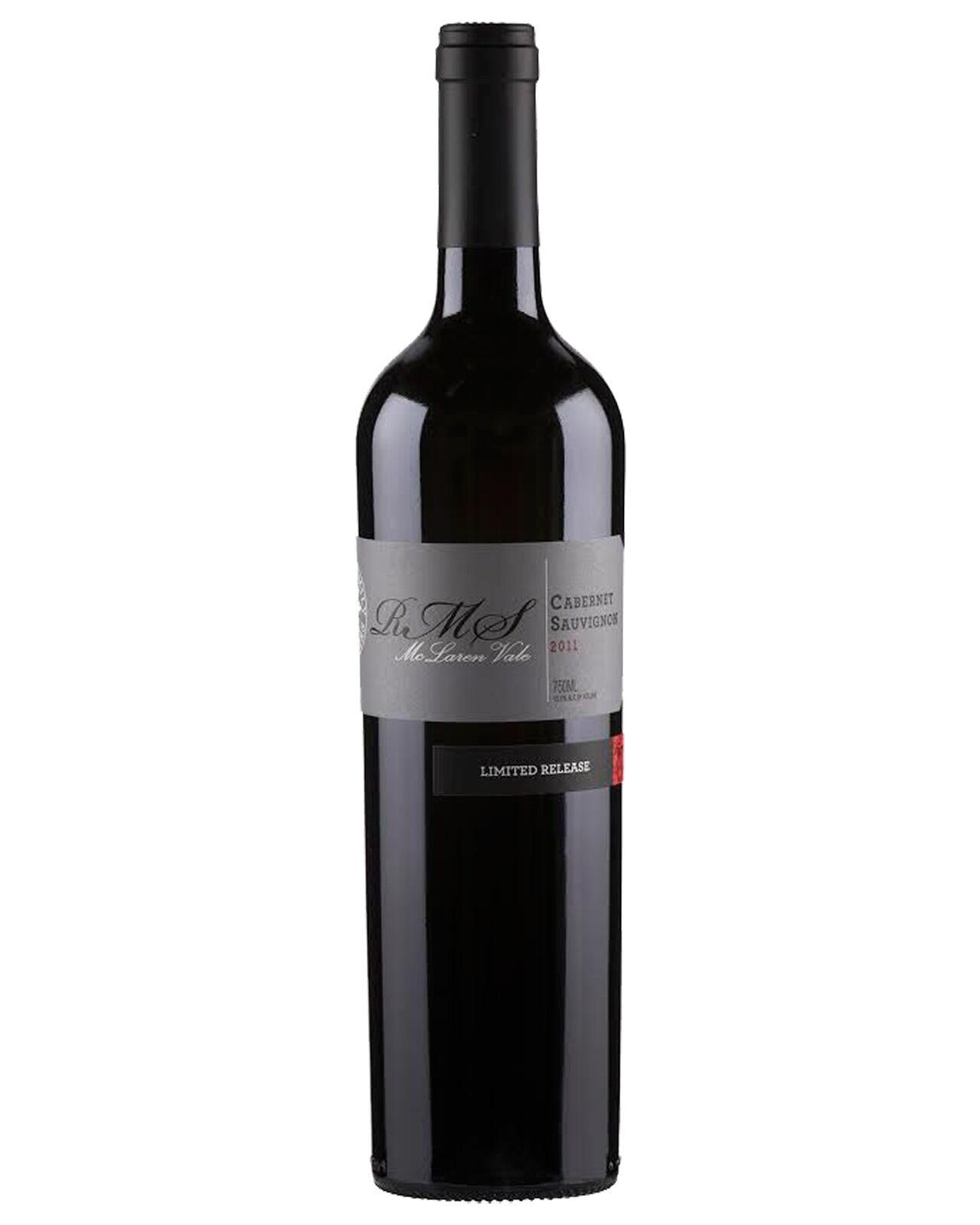 Shaw Family Vintners RMS Cabernet Sauvignon 2011 case of 6 Dry Red Wine 750mL