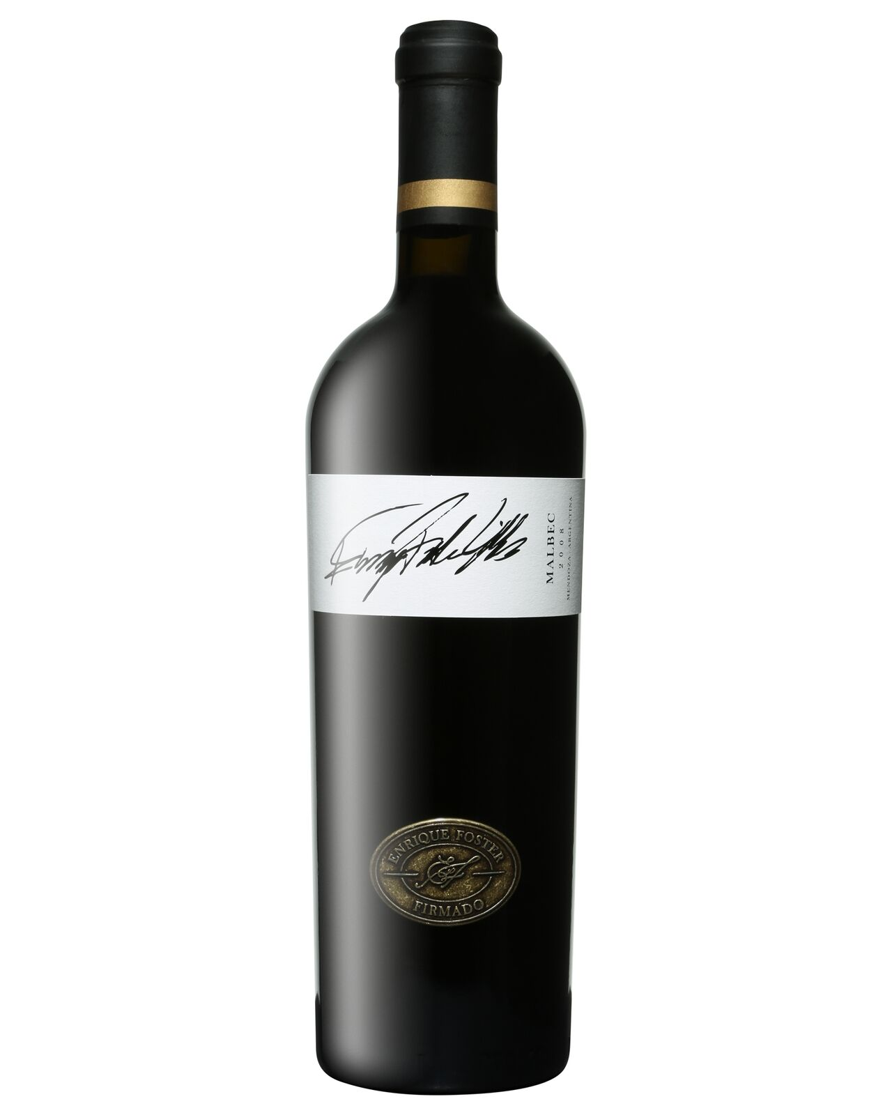 Enrique Foster Firmado Malbec 2008 bottle Dry Red Wine 750mL Mendoza
