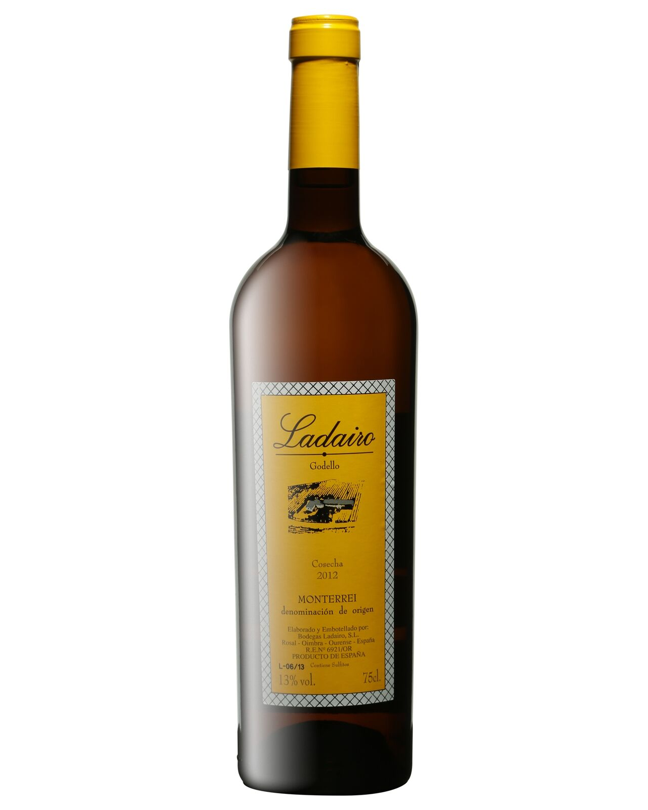 Ladairo Godello Blanco 2015 case of 6 Dry White Wine 750mL