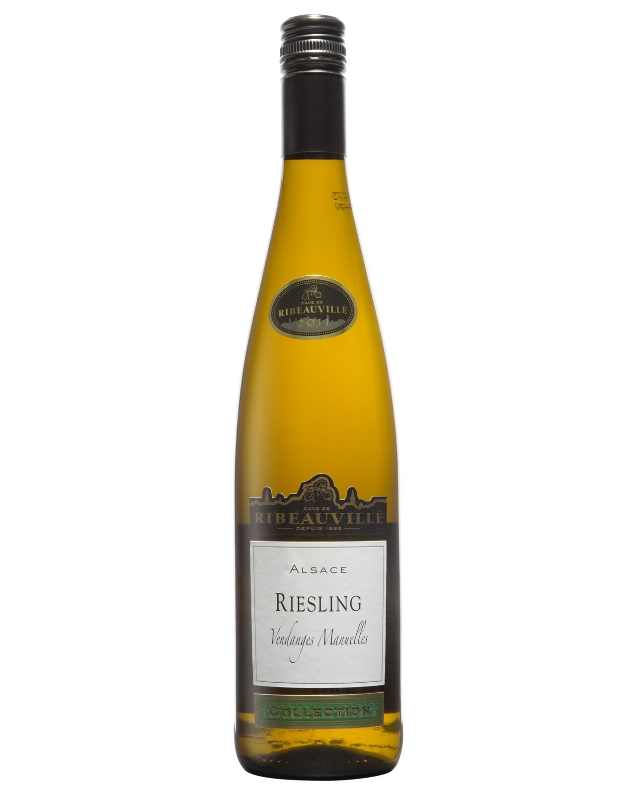 Cave De Ribeauville Riesling 2011 case of 1 Dry White Wine 750mL Alsace