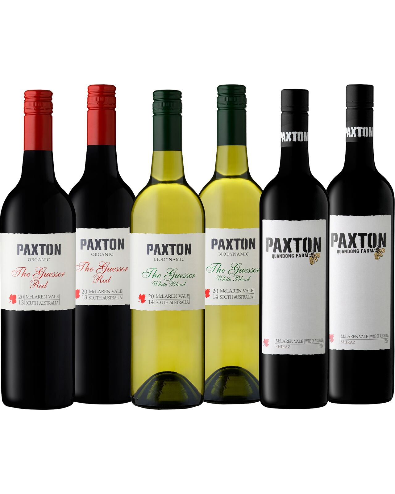 Paxton Mixed Organic Six Pack pack of 6 Wine McLaren Vale