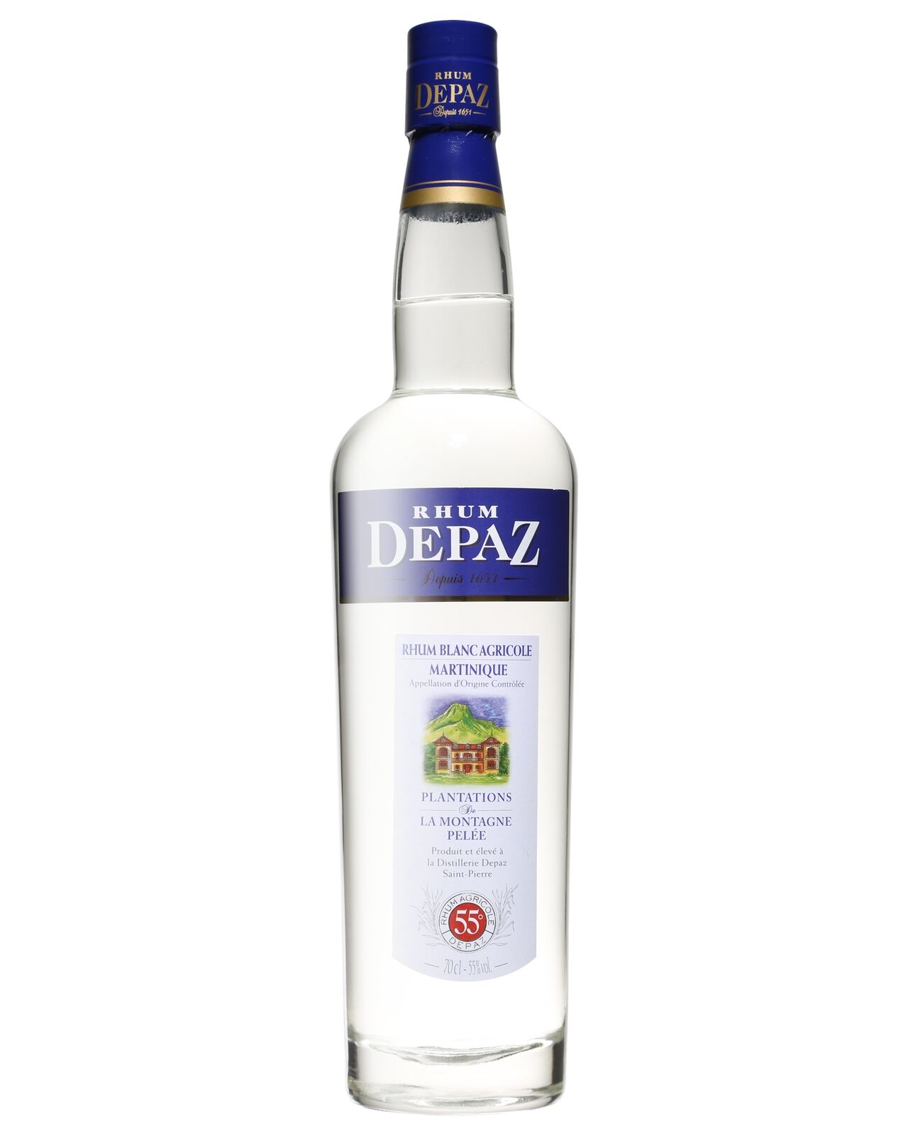 Depaz Rhum Agricole Blanc 700mL bottle White Rum