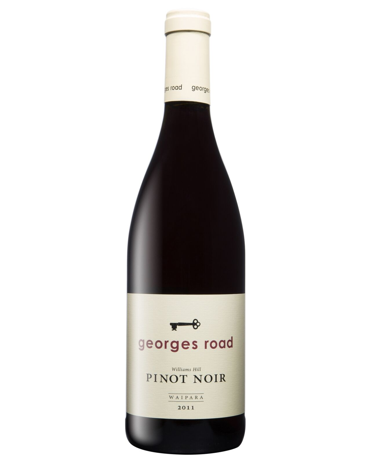 Georges Road Pinot Noir 2011 case of 6 Dry Red Wine 750mL Waipara