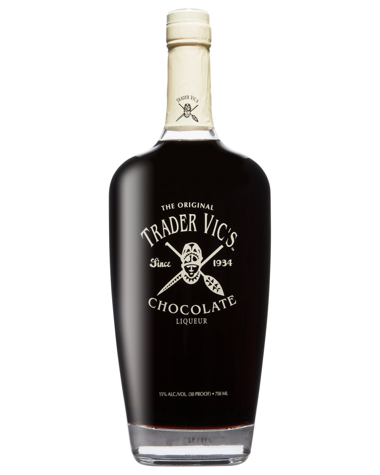 Trader Vic's Chocolate Liquer 750mL bottle Chocolate Liqueurs
