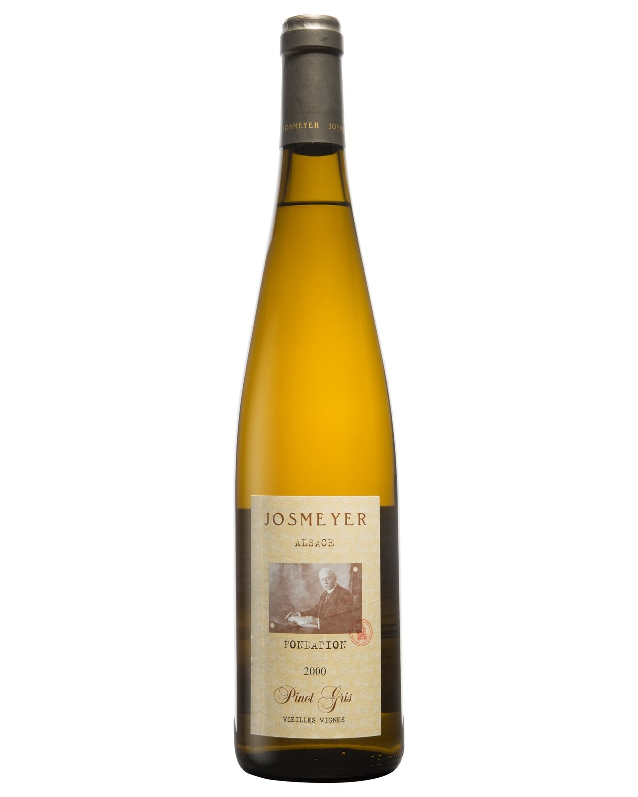 Domaine Josmeyer Pinot Gris Cuve 1854 Foundation 2000 case of 12 Dry White Wine