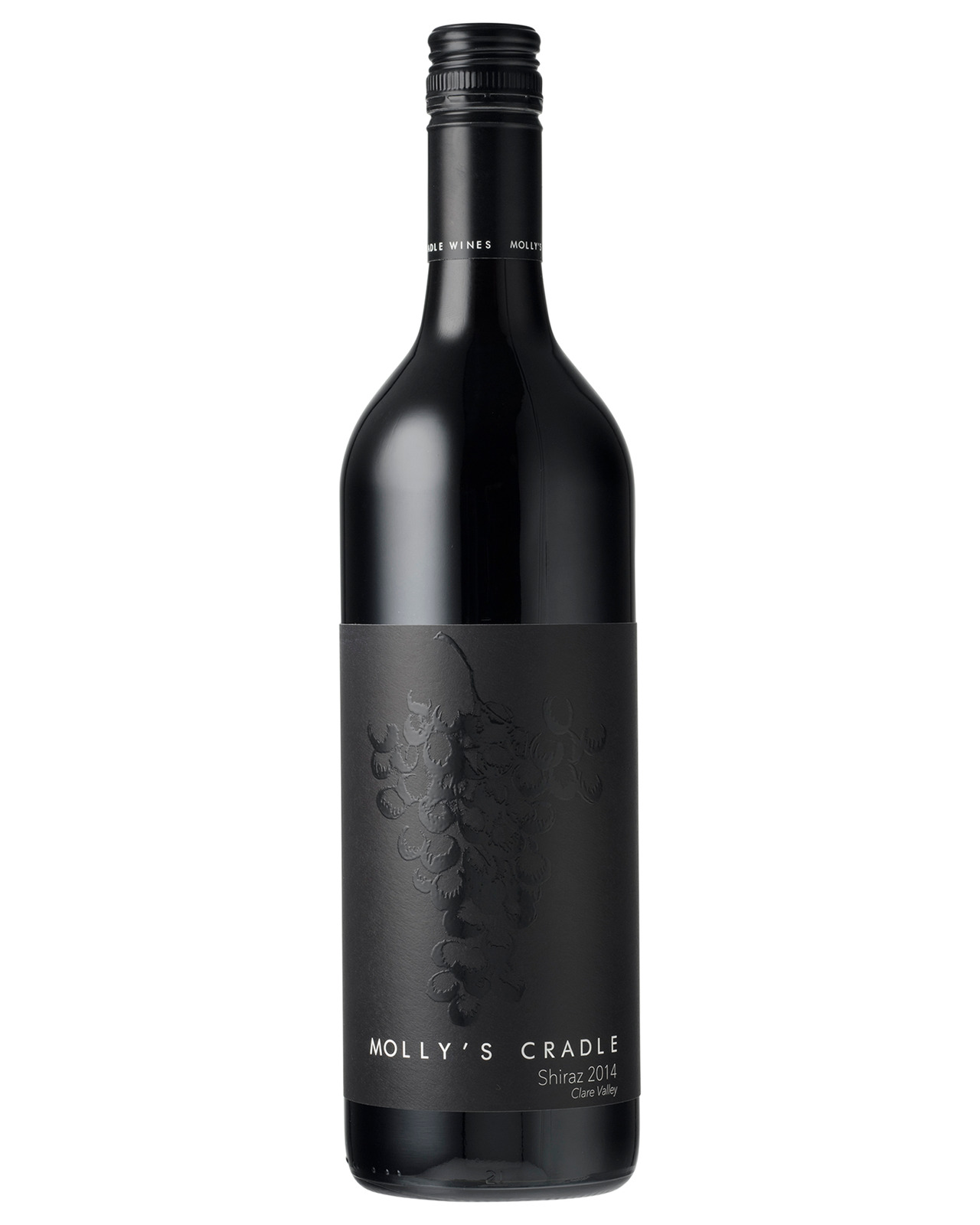 Molly's Cradle Shiraz 2016 case of 12 Dry Red Wine 750mL Mudgee