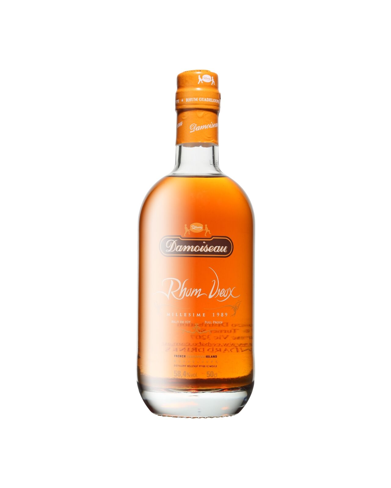 In January 2010, Damoiseau distillery bottled some of its most precious vintages