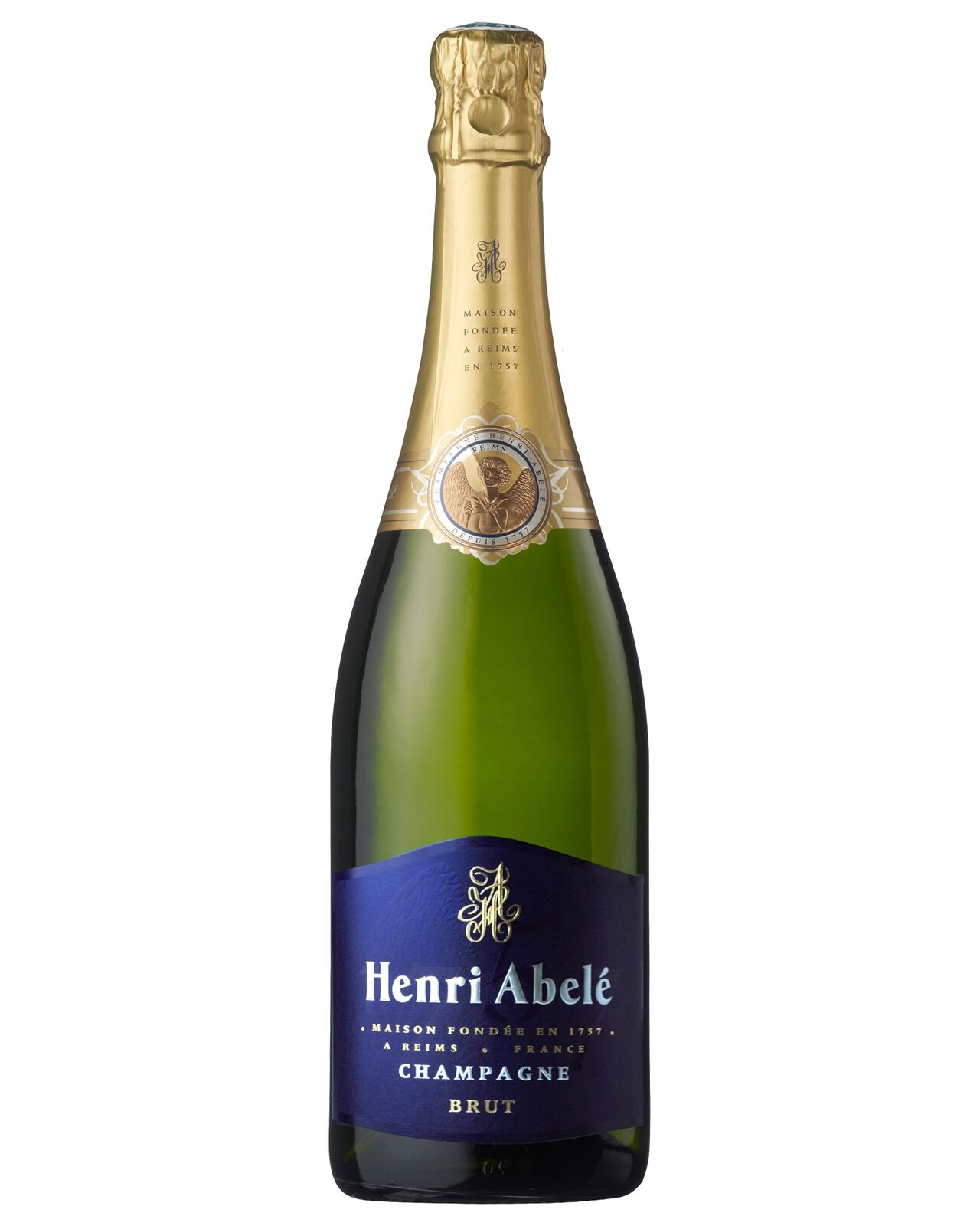 Henri Abele Champagne Brut (Reims) Non Vintage case of 6 Sparkling White Wine