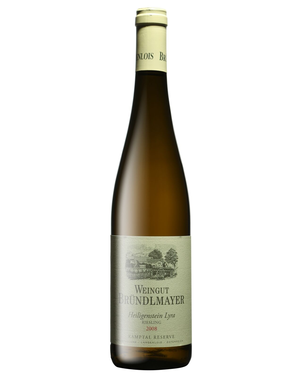 Brundlmayer Riesling Heiligenstein Lyra 2008 case of 12 Dry White Wine 750mL