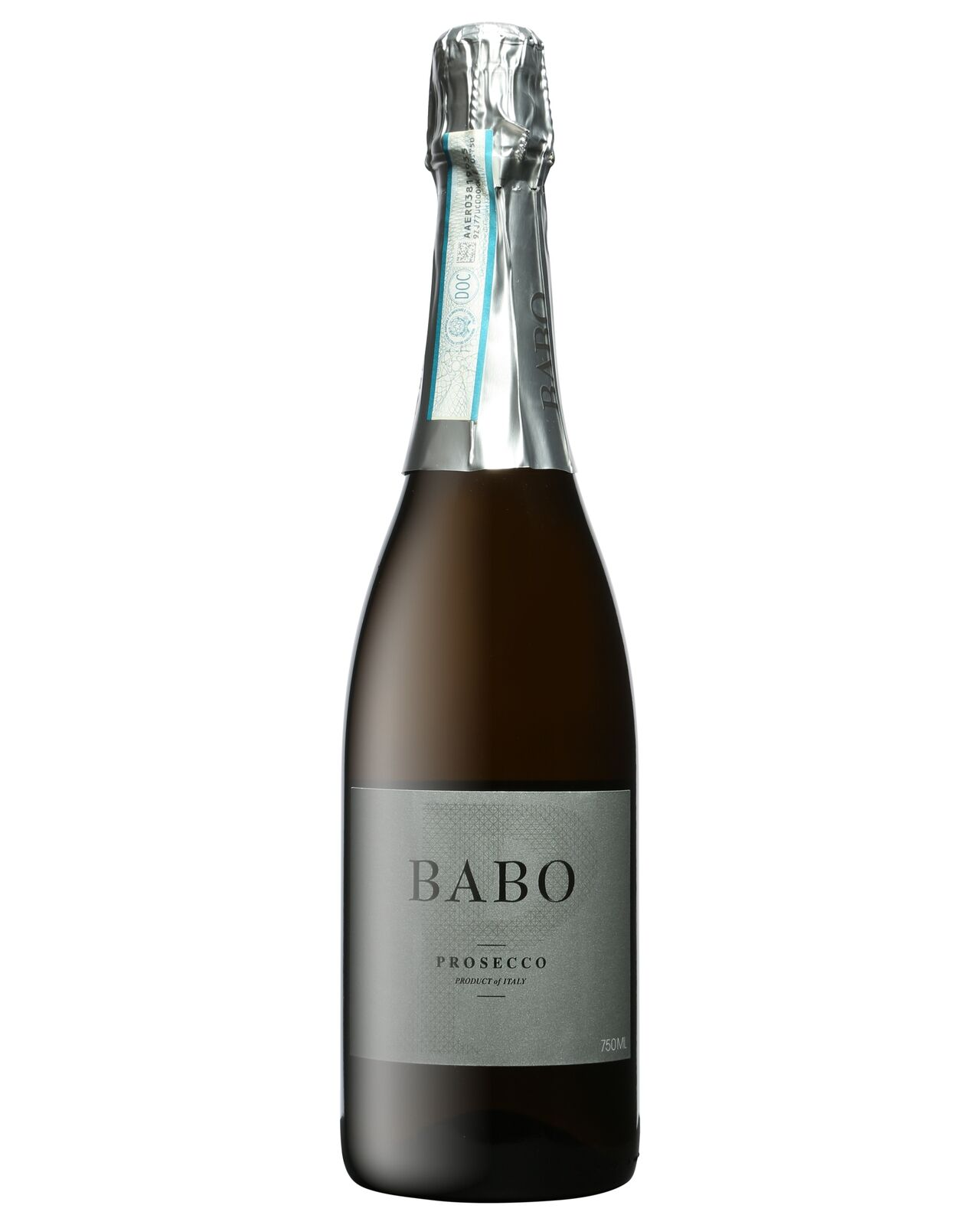 Babo Prosecco case of 12 Sparkling White Wine 750mL Friuli Venice