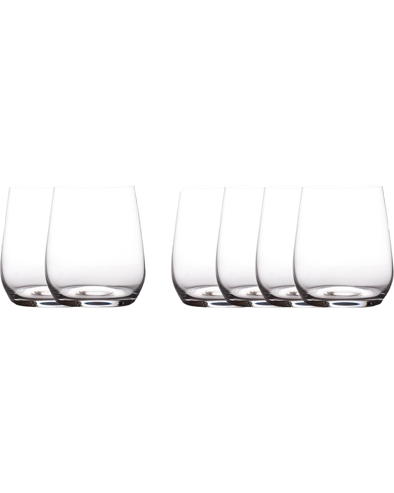 Maxwell & Williams Cosmo Stemless Wine Glass 6 Pack Bar Accessories