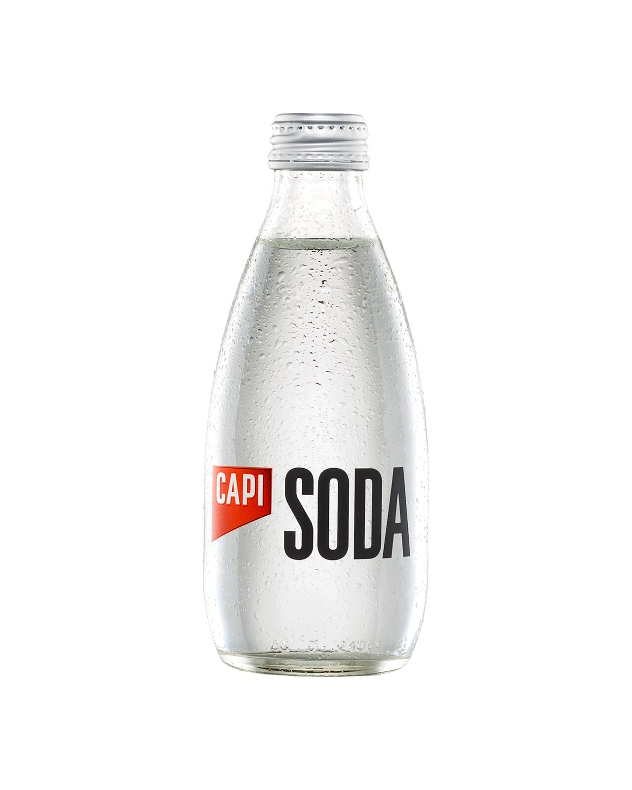 CAPI Soda Water 250mL case of 24 Soft Drinks