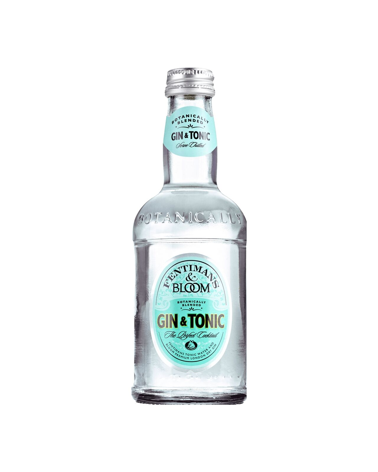 Fentiman's Bloom Gin & Tonic 275mL case of 24 Premix