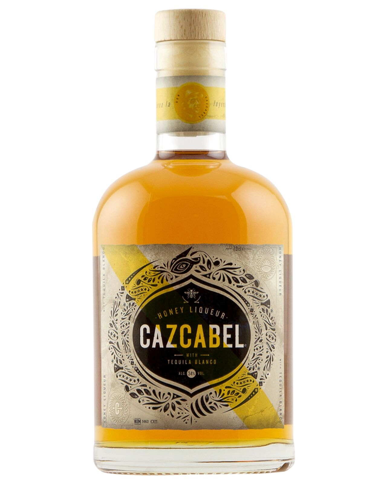 Cazcabel Honey Tequila 700ml bottle Mexico