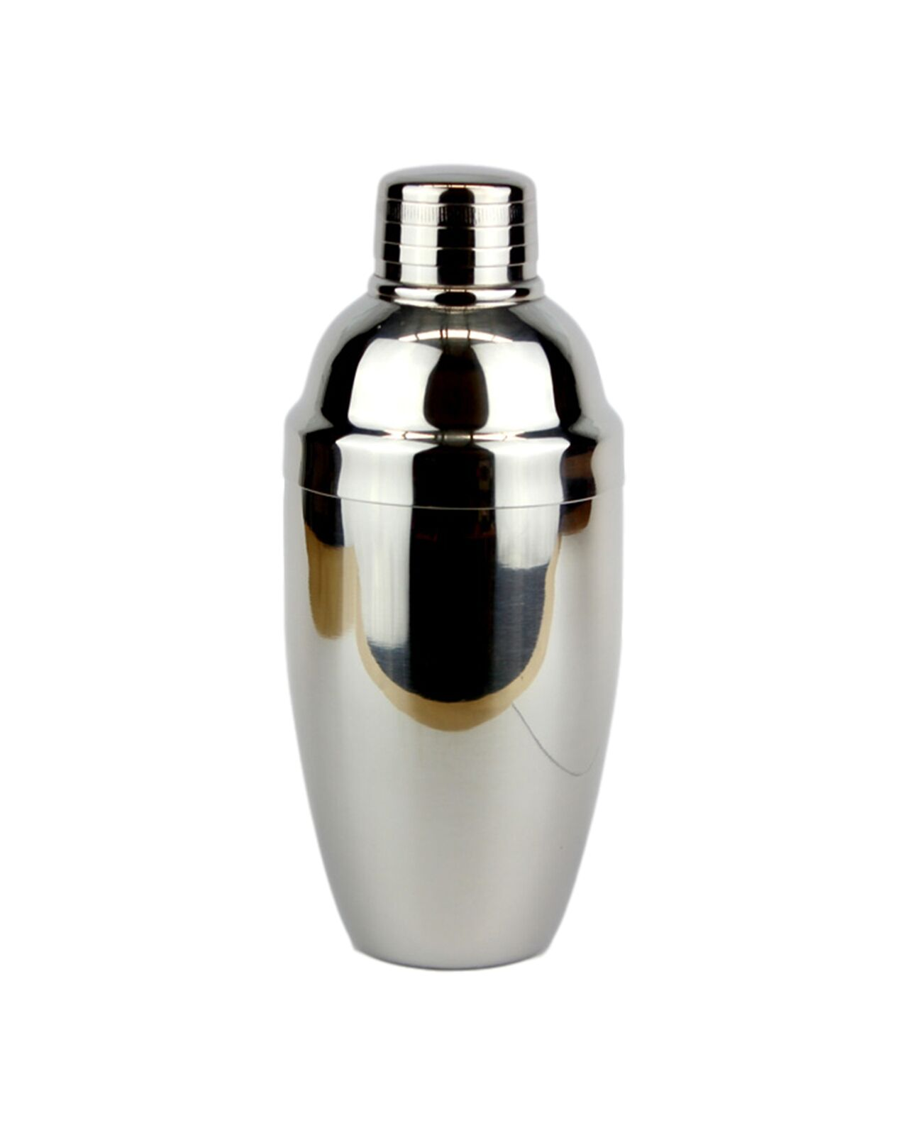 An elegant and practical cobbler cocktail shaker. These expertly crafted stainle