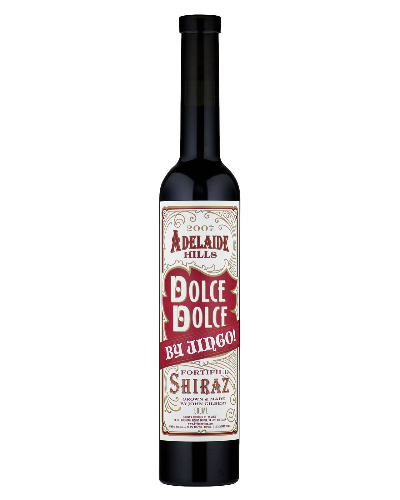By Jingo! Dolce Dolce Fortified Shiraz case of 6 Fortified Wines Dry Red Wine